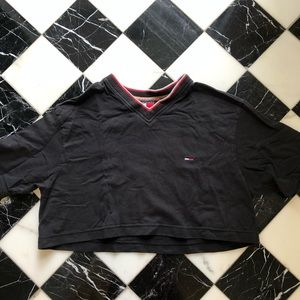 Vintage Tommy Jeans Cropped Shirt